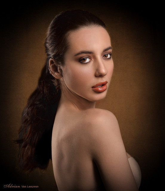 Old Masters Style Beauty Portrait