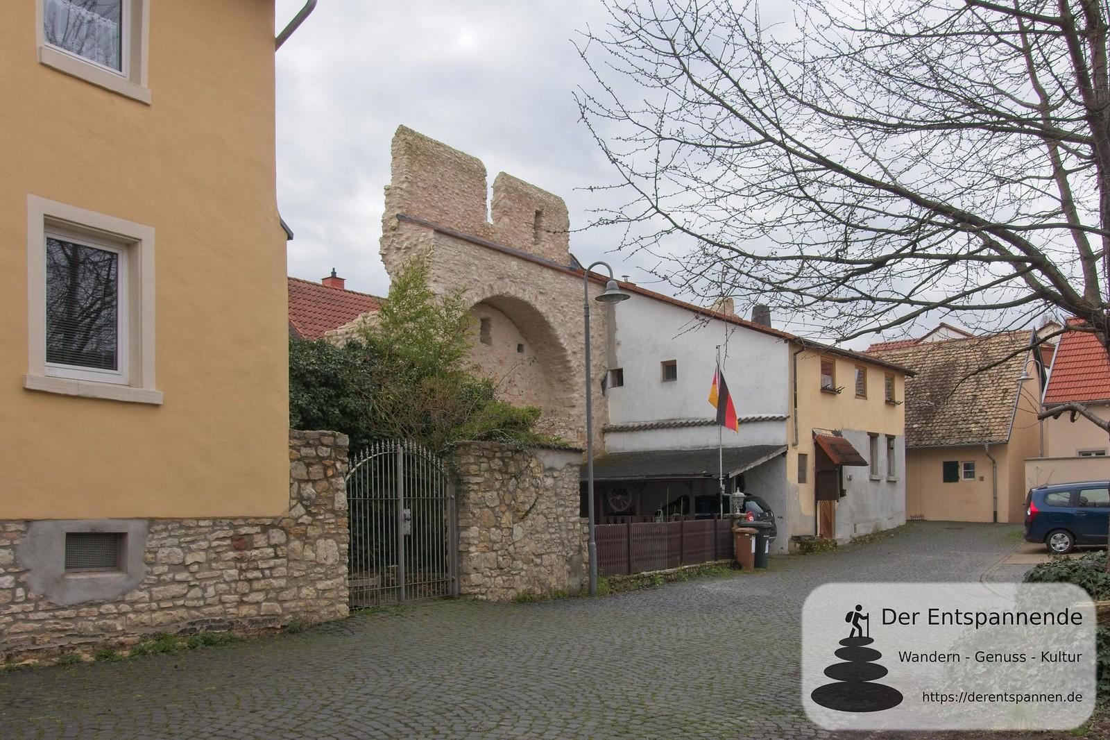 Reste der Wehrmauer (Kaiserpfalz Ingelheim)