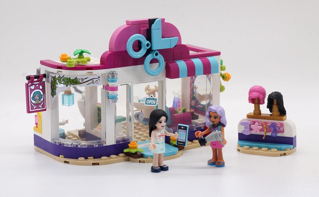 Review 41391 Heartlake City Hair Salon Brickset Lego Set Guide And Database