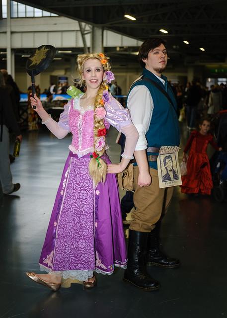 Rapunzel & Flynn Rider - Tangled