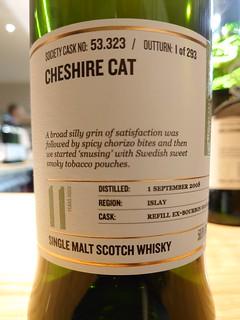 SMWS 53.323 - Cheshire cat