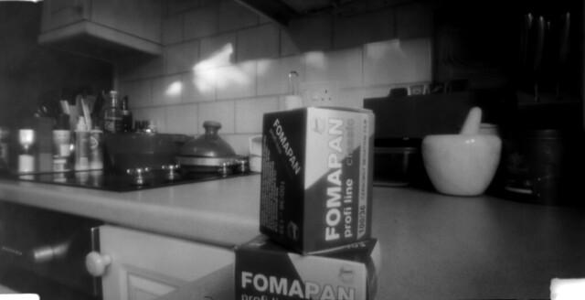 pinhole Fomapan