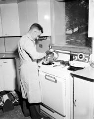 City Light electric range service, 1953