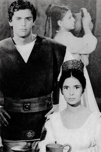 Marie-José Nat and Alexandru Herescu in Dacii (1966)