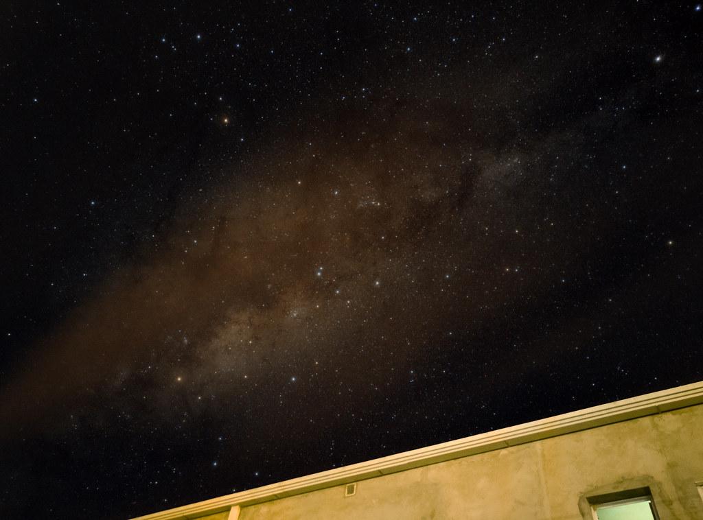 Vía Láctea desde Alberti, Buenos Aires.