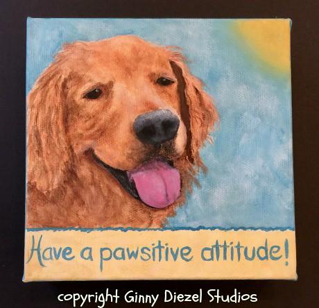 pawsitive attitude