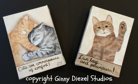 Cat connoisseurs and cat pawspurr