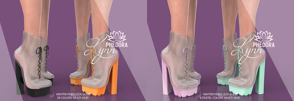 """Phedora for Anthem Event ~ """"Lynn"""" Ankle Boots ♥"""