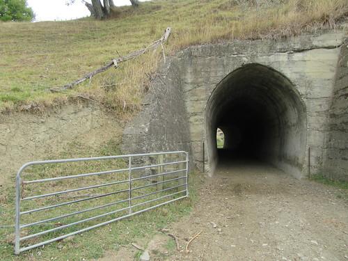 outdoor walking rural walkway otoko tunnel mahaki hill farm gate railway moutohora tekaraka gisborne newzealand