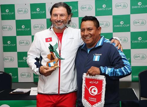 Sorteo Copa Davis Guatemala-Túnez