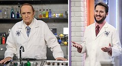 TV Replacements: Wil Wheaton replaces Bob Newhart as Professor Proton