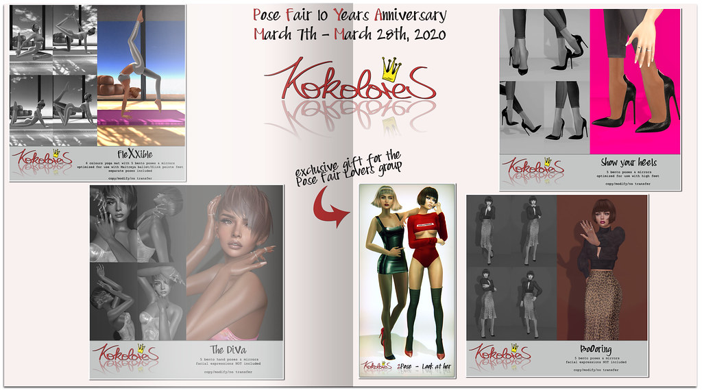 [KoKoLoReS] for Pose Fair 10 Years Anniversary
