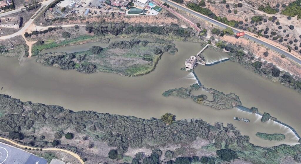 Vista del Río Chico en 2019 (Google Maps)