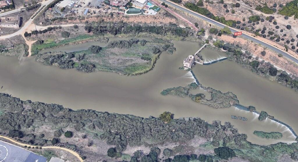 Vista del Río Chico en 2019 (Google Maps)