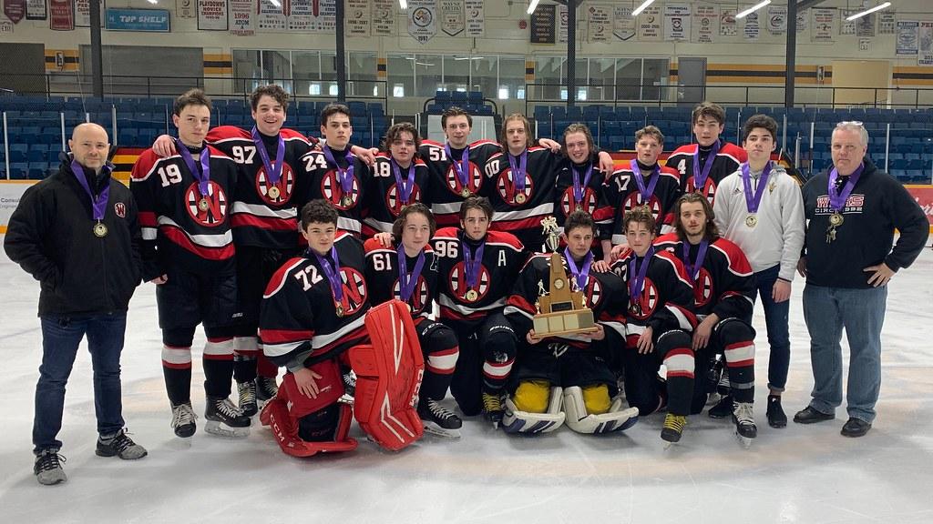 2019-20 HWIAC Boys Hockey Champions: Waterdown Warriors