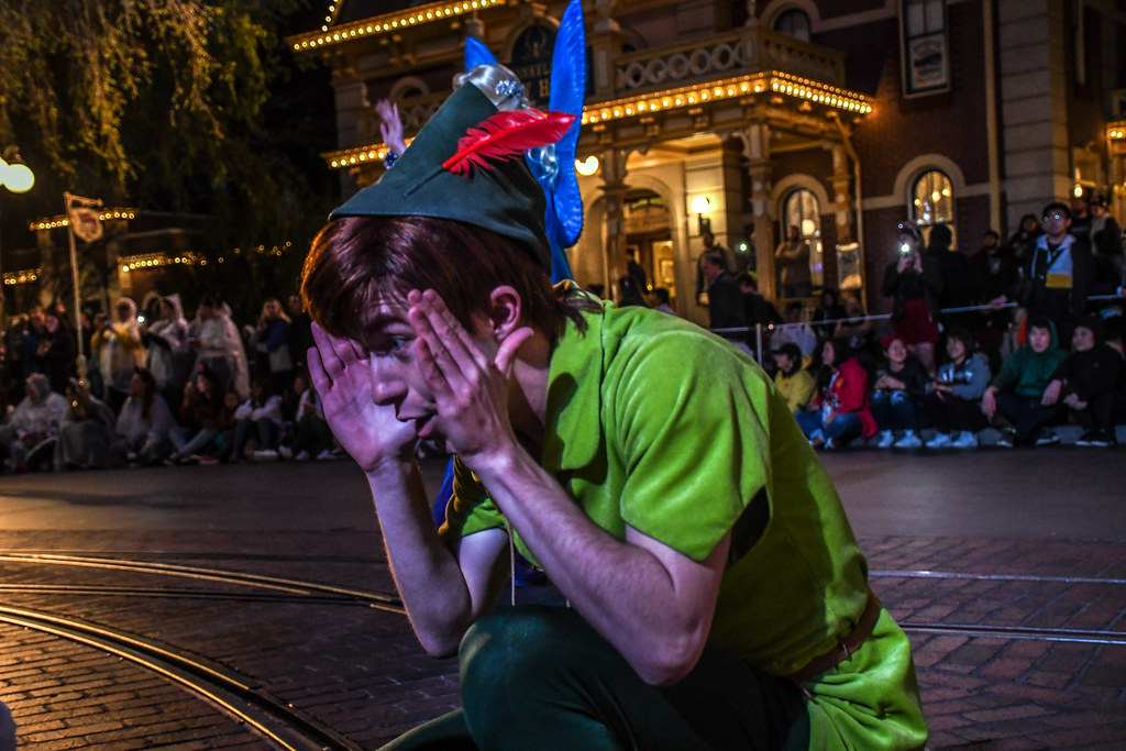 Peter Pan peek a boo Magic Happens DL