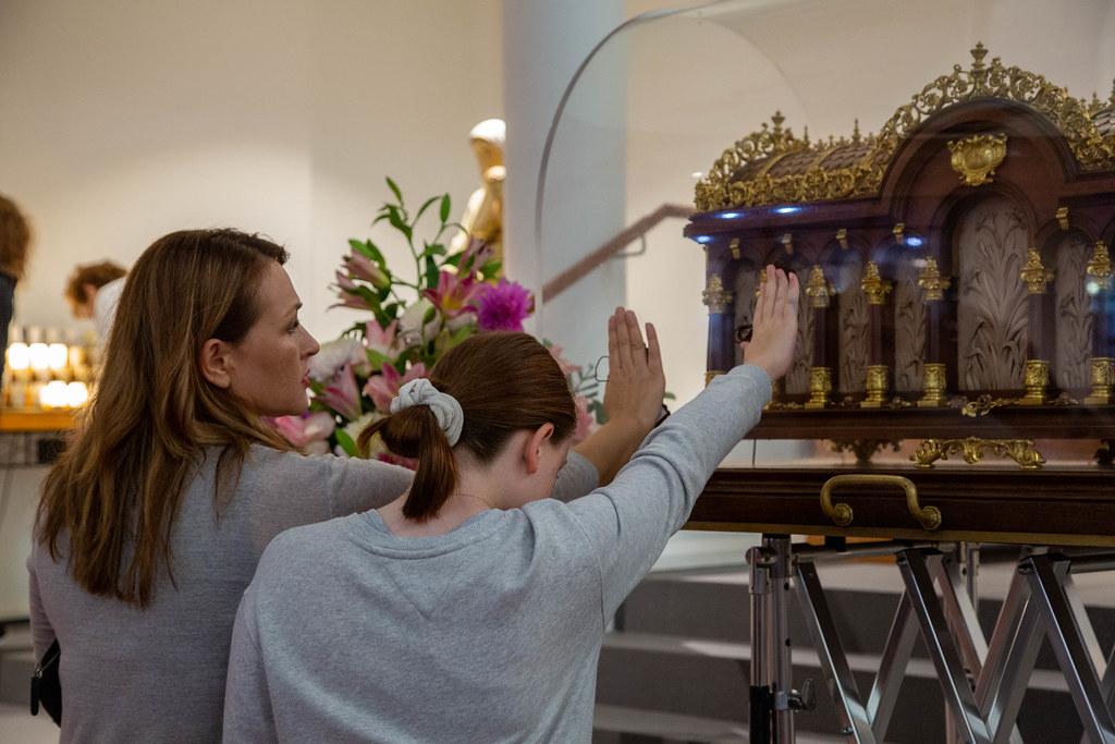 2020 Relics of St Thérèse Visit Wentworthville
