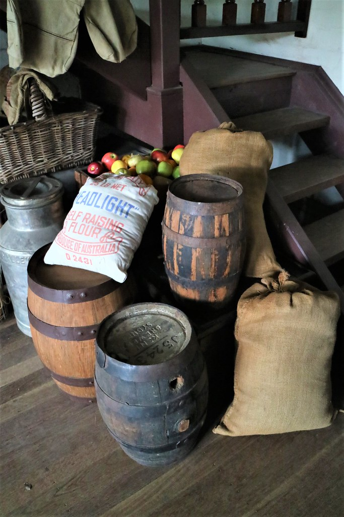 Produce at Wheatley's Store, Heritage Village, Fairfield City Museum and Gallery, Smithfield, NSW