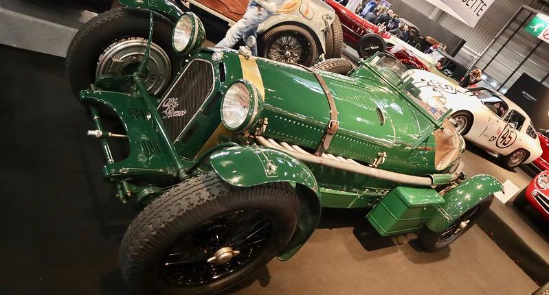 Alfa Romeo 2300/8C Monza biposto 1933 -  Retromobile Paris 2020 -  49624840383_ba7360af58_c