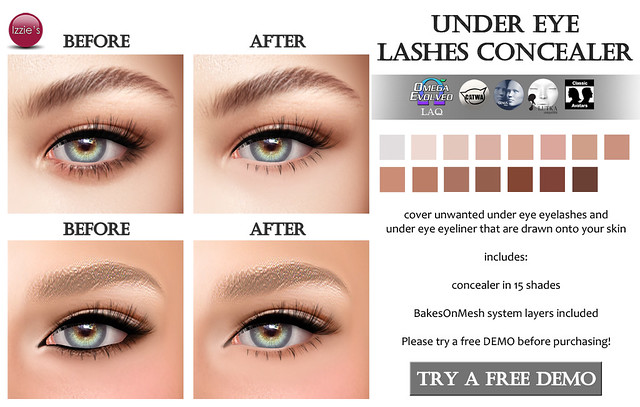 Under Eye Lashes Concealer (for FLF)