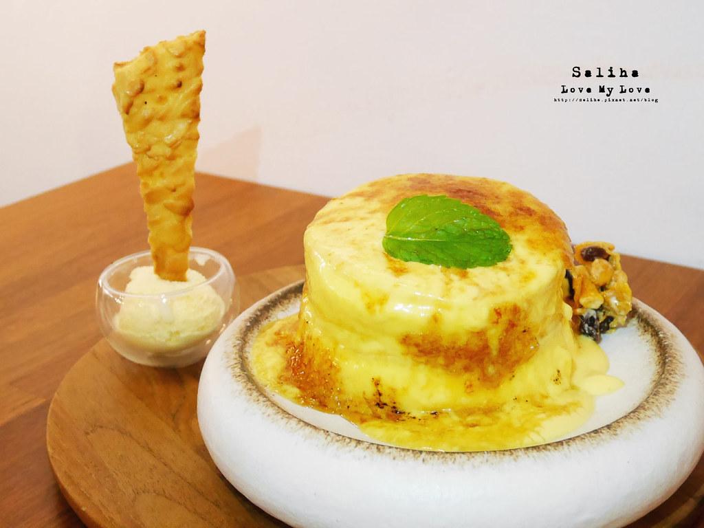 台北永康街不限時咖啡廳下午茶推薦成真咖啡舒芙蕾披薩ig打卡美食甜點 (1)