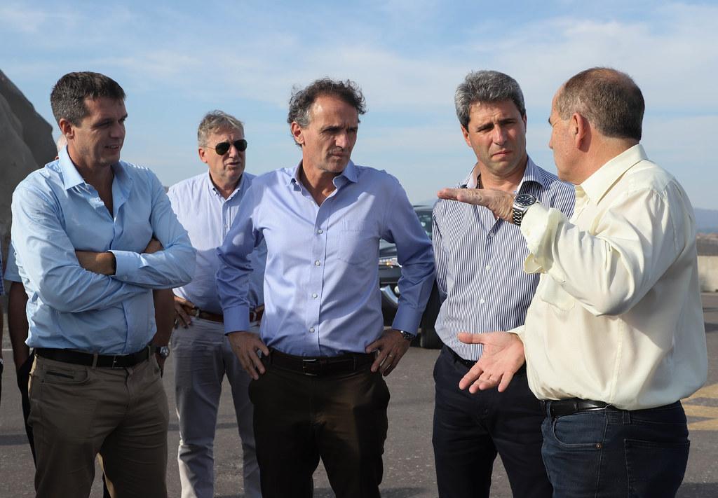 2020-03-05 PRENSA: El Ministro de Obras Pùblicas de la Nación recorrió Punta Negra