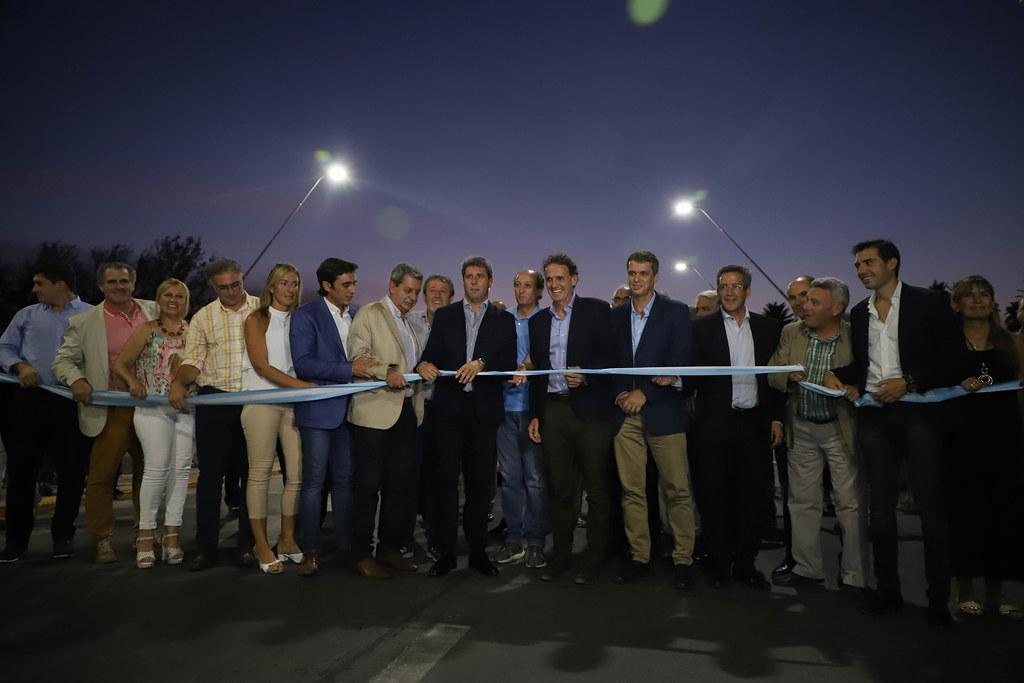 2020-03-04 PRENSA :  Inauguración de obras en avenida Ignacio de la Roza