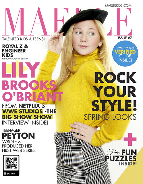 Maelle Kids Magazine #7 Lily Brooks O'Briant Coming Soon