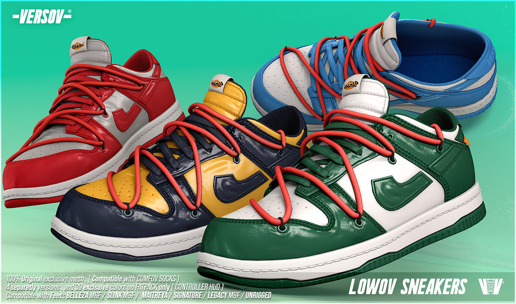 [ Versov // ] LOWOV sneakers available at TMD
