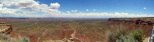 Moki Dugway Viewpoint, Utah - Panorama [explored]