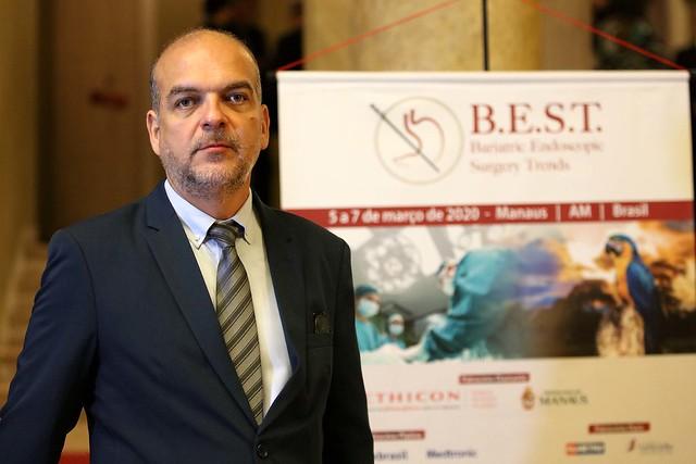 05.03.2020 Manaus sedia curso internacional de Tendência da Cirurgia Endoscópica Bariátrica - Médicos e enfermeiros