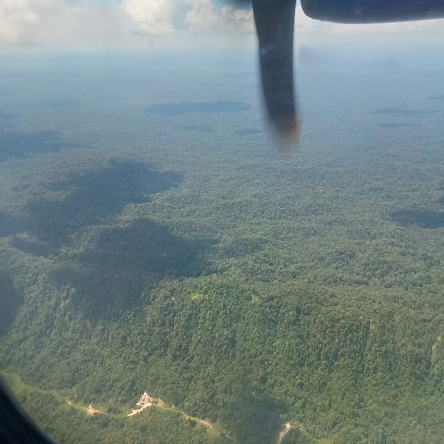 Sarawak mountain jungles