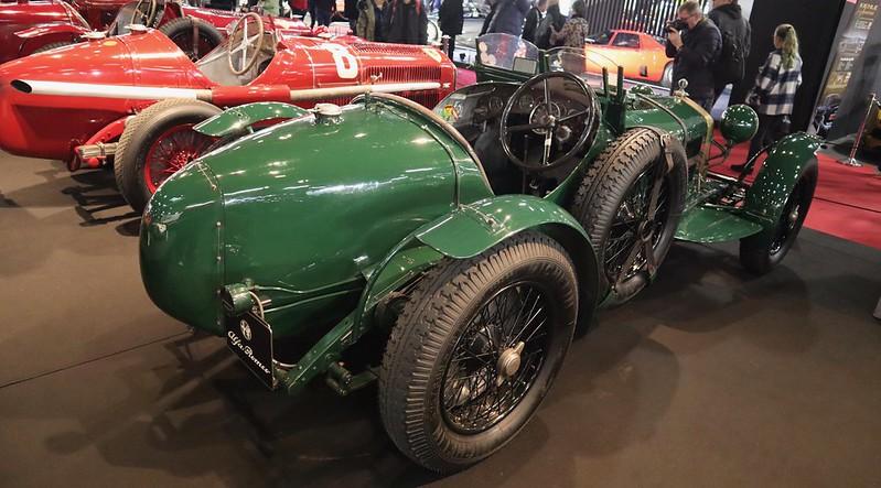 Alfa Romeo 2300/8C Monza biposto 1933 -  Retromobile Paris 2020 -  49625356341_803d4f757c_c
