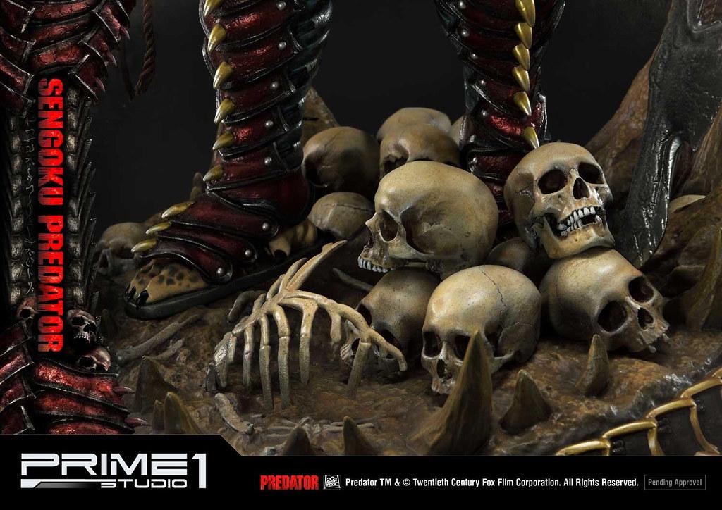 注入武者之魂的霸氣狩獵者! Prime 1 Studio 黑馬漫畫【戰國終極戰士】センゴクプレデター PMDHPR-04 1/4 比例全身雕像 普通版/EX版