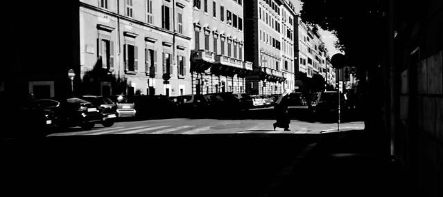 Lonely city.