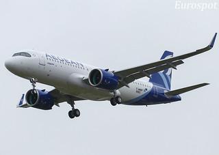 F-WWBF Airbus A320 Neo Aegean