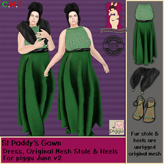 CB St Paddys Gown