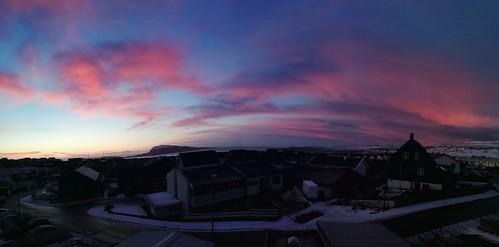20200306072142 sunrise morningred sooc hoyvík tórshavn faroeislands