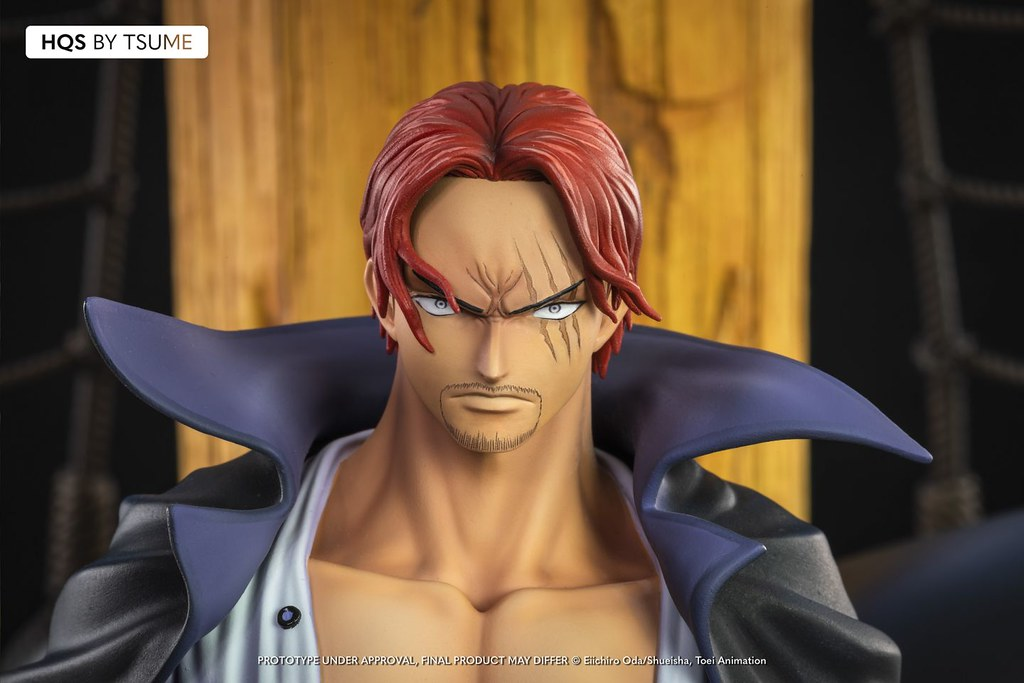 散發強烈的霸王色霸氣!Tsume-Art HQS系列《航海王 ONE PIECE》「紅髮傑克」1/7 比例場景雕像(Shanks)