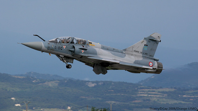 French Air Force Dassault Mirage 2000B 5-OG 515