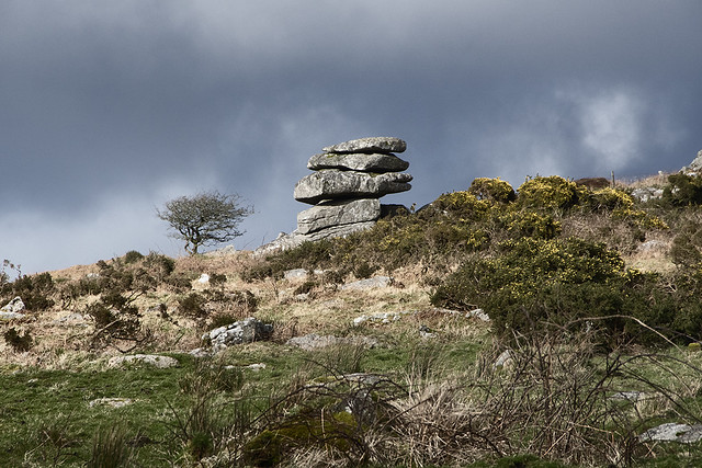 Carbilly Tor on Bodmin Moor