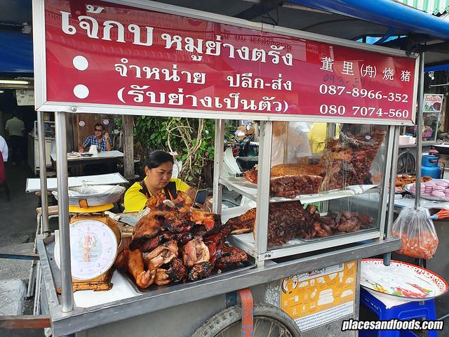 kim yong market pork stall