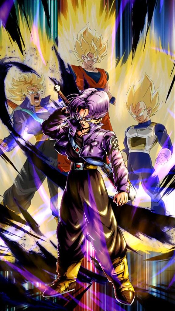 充滿殺氣的帥氣眼神~BANPRESTO《七龍珠激戰傳說》Dragon Ball Legends Collab「特南克斯 」景品(ドラゴンボール レジェンズ トランクス)