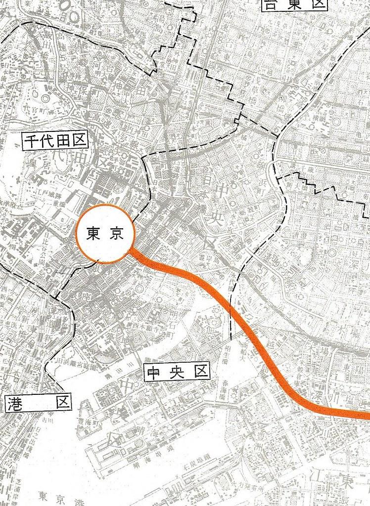成田新幹線ルート図面 (2)