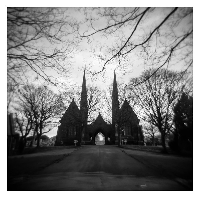 Approaching Tinsley Park Cemetery
