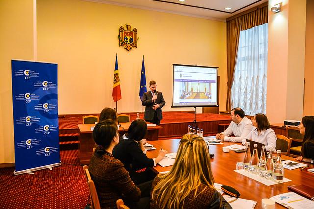 European Digital Diplomacy Exchange Training in Moldova