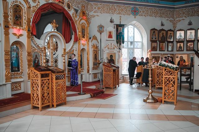 4 марта 2020 г. Литургия Преждеосвященных Даров