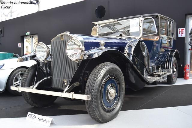 Isotta Frashini Tipo 8A Landaulet 1924