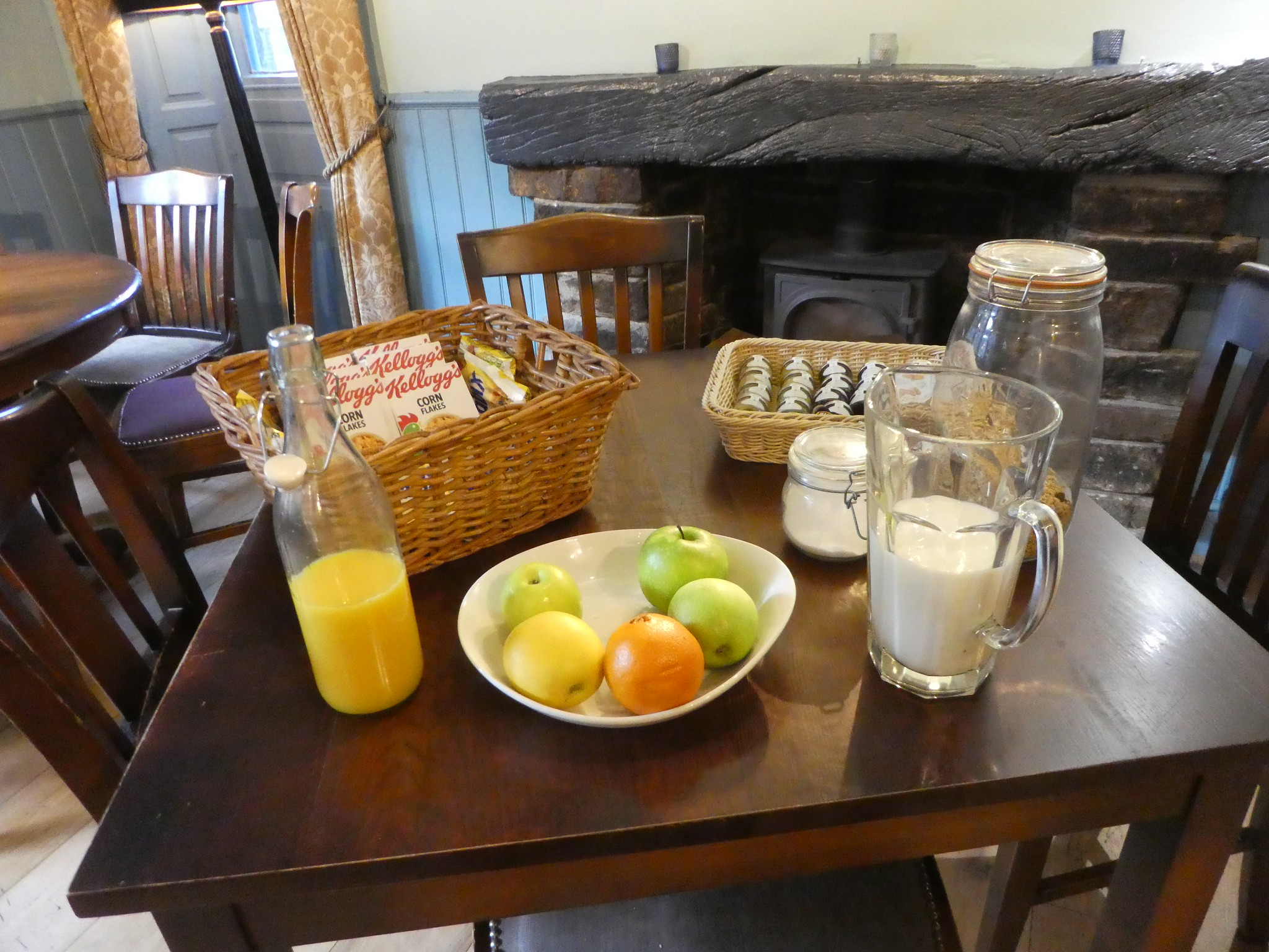 Breakfast, The White Lion Hotel, Hebden Bridge