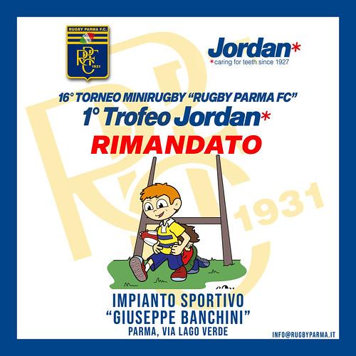 Rinvio 1° Trofeo Jordan